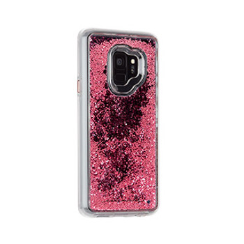 Samsung Galaxy S9 Case-Mate Rose Gold Waterfall case
