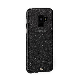 Samsung Galaxy A8 (2018) Case-Mate Noir Sheer Glam case