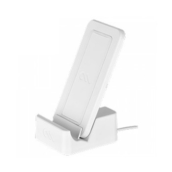Case-Mate White Wireless Power Pad w/Stand