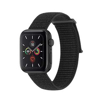 Apple Watch (Series 1,2,3,4,5) 38/40mm Case-Mate Black Nylon Band