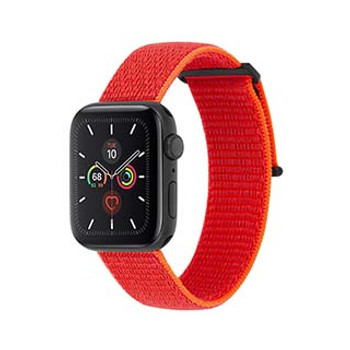 Apple Watch (Series 1,2,3,4,5) 38/40mm Case-Mate Reflective Neon Orange Nylon Band