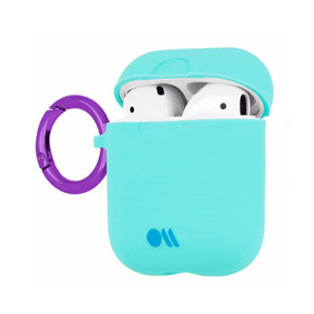 AirPods Case-Mate Aqua Blue/Metallic Purple Case