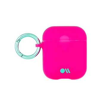 AirPods Case-Mate Fushia Dark Pink/Metallic Blue Case