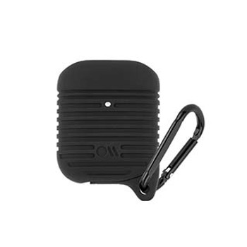 AirPods Case-Mate Black Tough Case w/ Carabiner
