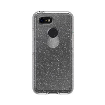 Google Pixel 3 Otterbox Clear/Silver (Stardust) Symmetry Series Case