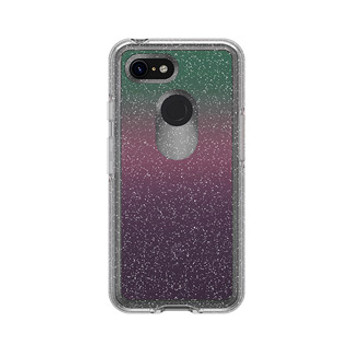 Google Pixel 3 Otterbox Clear/Silver (Gradient Energy) Symmetry Series Case