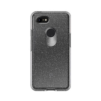 Google Pixel 3 XL Otterbox Clear (Stardust) Symmetry Series Case