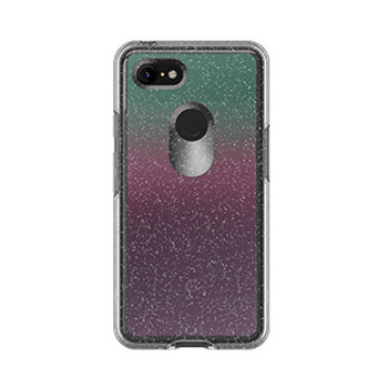 Google Pixel 3 XL Otterbox Clear (Gradient Energy) Symmetry Series Case