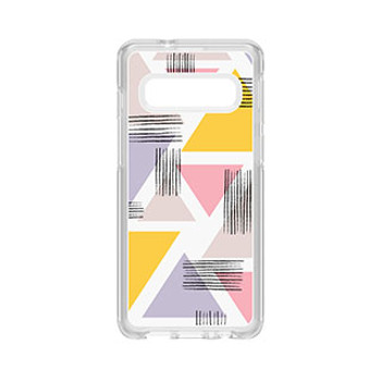 Samsung Galaxy S10 Otterbox Clear (Love Triangle) Symmetry Series Case