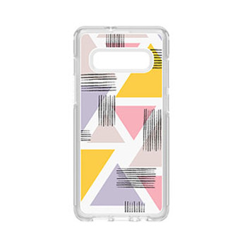 Samsung Galaxy S10+ Otterbox Clear (Love Triangle) Symmetry Series Case
