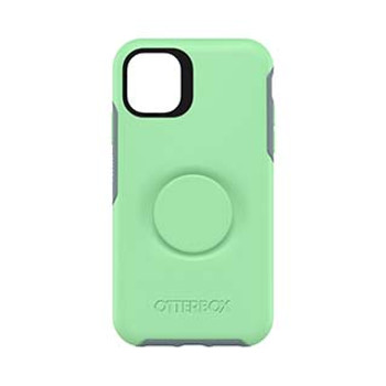 iPhone 11 Otterbox + POP Turquoise/Blue (Mint To Be) Symmetry Series Case