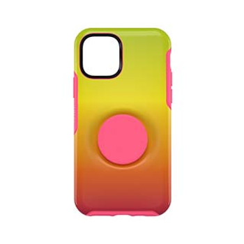 iPhone 11 Pro Otterbox + POP Pink/Yellow (Island Ombre) Symmetry Series Case