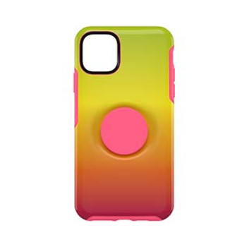 iPhone 11 Pro Max Otterbox + POP Pink/Yellow (Island Ombre) Symmetry Series Case