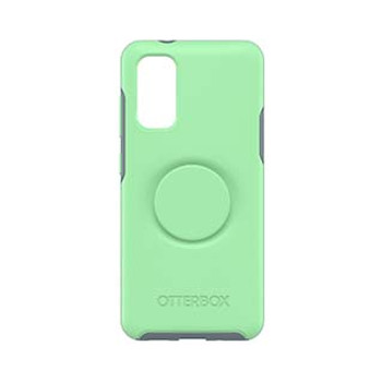 Samsung Galaxy S20 Otterbox + POP Turquoise/Blue (Mint To Be) Symmetry Series Case
