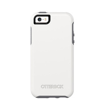 As is -iPhone 5/5S/SE Otterbox White/Grey (Glacier) Symmetry series case