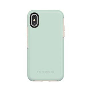 As is - iPhone X/Xs Otterbox Blue/Grey (Muted Waters) Symmetry Series case