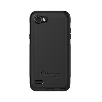 As is -LG Q6/Q6 Plus Otterbox Black Commuter Series case