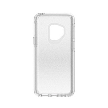 Samsung Galaxy S9 Otterbox Clear/Silver Flake (Stardust) Symmetry Series case