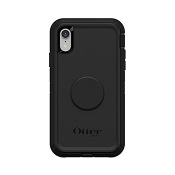 iPhone XR Otterbox + POP Black Defender Series Case