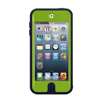 iPod Touch 5th Generation/6th Gen/7th Gen Otterbox Navy/Green (Punk) Defender series cas