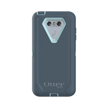 As is - LG G6 Otterbox Dark Blue/Blue (Moon River) Defender Series case