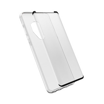 Samsung Galaxy S9+ Otterbox Clearly Protected Alpha CURVED Glass screen protector