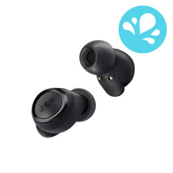 JAM Black Live Free Bluetooth True Wireless Earbuds