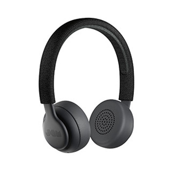 JAM Black Been There Bluetooth On-Ear Headphones