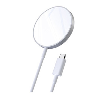 Designed with MagSafe compatible devices in mind, the CHOETECH Magnetic Wireless Charger is capable of delivering up to 15W.  This simple magnetic wireless charger by CHOETECH comes with built-in magnets that allow MagSafe compatible devices to snap into optimal alignment for faster charging (up to 15W). Featuring an integrated USB-C PD cable for providing the optimal charge to the charger, it's compatible with smartphone cases that are 3-5 mm thick.      To ensure users receive the 15W fast-charge standard use a 20W wall adapter to power this charger (sold separately).