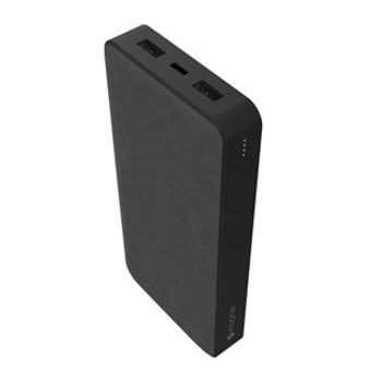 The mophie powerstation XXL portable power-bank contains a 20,000mAh battery and 18W USB-C PD fast charge as well as two USB-A ports to charge up to 3 devices. All the juice users crave in one pack. Fully charge your phone up to 4.6 times!* Thanks to a versatile 18W USB-C PD port, the powerstation charges and recharges in record time. You can get up to 50% battery in just 30 minutes.** Slow charging is a thing of the past. mophie's large capacity powerstation XXL contains a 20,000mAh battery, so all your devices are ready for any adventure. *Number of charges using a fully charged preproduction powerstation to charge an iPhone 11 Pro in Airplane Mode from 0-100%. Results will vary based on environmental factors, device settings, and individual usage. **Based on a 30-minute charge from 0% on an iPhone Xs using an 18W charger and an Apple USB-C to Lightning cable versus a 5W in-box charger. Results will vary by charging configuration and device.