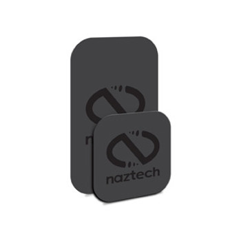The Naztech MagBuddy Magnetic Plates are an innovative, easy-to-use magnetic system for securing your devices anywhere in your home, office, or vehicle! This flat, magnetic system features the highest quality neodymium magnets coupled with durable, double-sided adhesive to secure any device, including your tablet! The Naztech MagBuddy™ Plates are the perfect combination of magnetic convenience and security to keep your device safe and ready to use!MagBuddy™ Plate Installation OptionsThe MagBuddy™ Plate can be applied directly to your device, adhered to the battery just under the battery cover, sandwiched in-between the phone and case or to the outside of the case.A Magnetic Mount for All LocationsWith the MagBuddy™ Plate installed on your device, you can pair it various MagBuddy™ mounts, all using 100% safe and powerful magnets. Mount your device anywhere like in your car using the vent, dash, windshield or cup holder mounts or on your desk with the desktop mount (all sold separately).