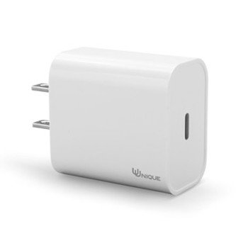Optimized for iPhone & Android Fast Charge, the 20W USB-C PD Wall Charger by Uunique London is perfect for charging up at home or in the office. Featuring a compact and lightweight design, this 20W USB-C PD Wall Charger from Uunique is the ultimate charging solution for home, work, and travel - all you need to power your current devices and stay ahead of the curve of any future electronics. It comes with a built-in intelligent chip, to ensure safer and reliable charging - over-current, over-voltage, over-heat, and short-circuit protection - for most devices.