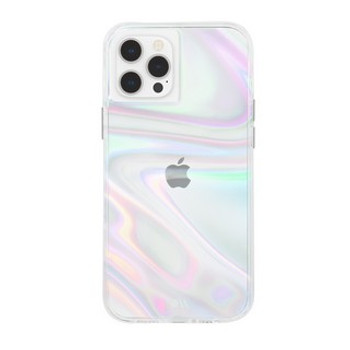 Case-Mate's Soap Bubble case is literally a protective bubble for your phone with its 10ft drop protection.  The Case-Mate Soap Bubble case is a swirled iridescent printed pattern that mesmerizes and changes colors at every angle...just like a soap bubble! The holographic effect is one of a kind and gives your cases a different effect depending on the lighting of your surroundings.