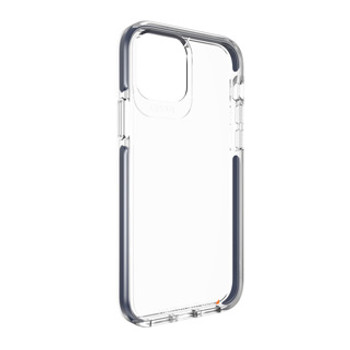 Designed to show off the original design of the device, the Gear4 Crystal Palace case features a sleek transparent construction with crystal clear D3O® inside the case.    Constructed of clear TPU, this slim-fitting case boasts injection-moulded D3O® technology with a PC backplate made of the same material used in bullet-proof glass and a raised bezel for complete drop protection.         Approved by D3O® D3O® is a world-renowned specialist impact protection company, that uses its unique knowledge and know-how to advise regulatory bodies on the best practice for impact protection.    D3O® is a patented material proven to deliver superior impact protection through advanced shock absorption. D3O® is used by the military and medical field as well as in workwear, sports apparel, motorcycle apparel and footwear.     D3O® material has a unique molecular structure that is soft and flexible, but on shock, the molecules lock together causing impact energy to dissipate which reduces force and then returns to its flexible state. The greater the force of the impact, the more the molecules lock together and the greater the protection.