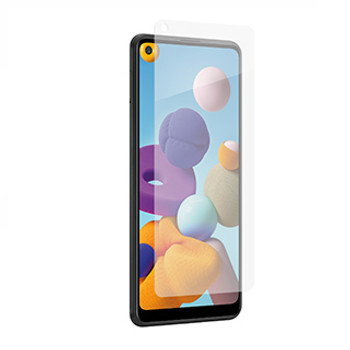 Utilizing the power of the Aluminosilicate glass, the ZAGG InvisibleShield Glass Elite+ Tempered Glass screen protector offers advanced strength and scratch resistant for maximum protection.The ZAGG InvisibleShield Glass Elite+ Tempered Glass offers advanced strength for maximum protection designed for smartphones. Extreme Shatter Protection & Maximum Scratch PreventionThis is achieved due to using Aluminosilicate glass in combination with Ion Exchange Technology, which increases surface compression for better strength and scratch-resistance. Glass Elite's reinforced edges prevent chipping, and its beveled shape seems to disappear into the screen.  ClearPrint™ TechnologyExclusive to Glass Elite+, this oil-dispersing treatment disperses the oil from your fingerprints, making them nearly invisible. Easy ApplicationThis product comes with EZ Apply® tabs, an installation tray, and a rubber install mat, making the application process simple and accurate.