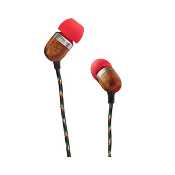 House of Marley Fire Red Smile Jamaica Earbuds