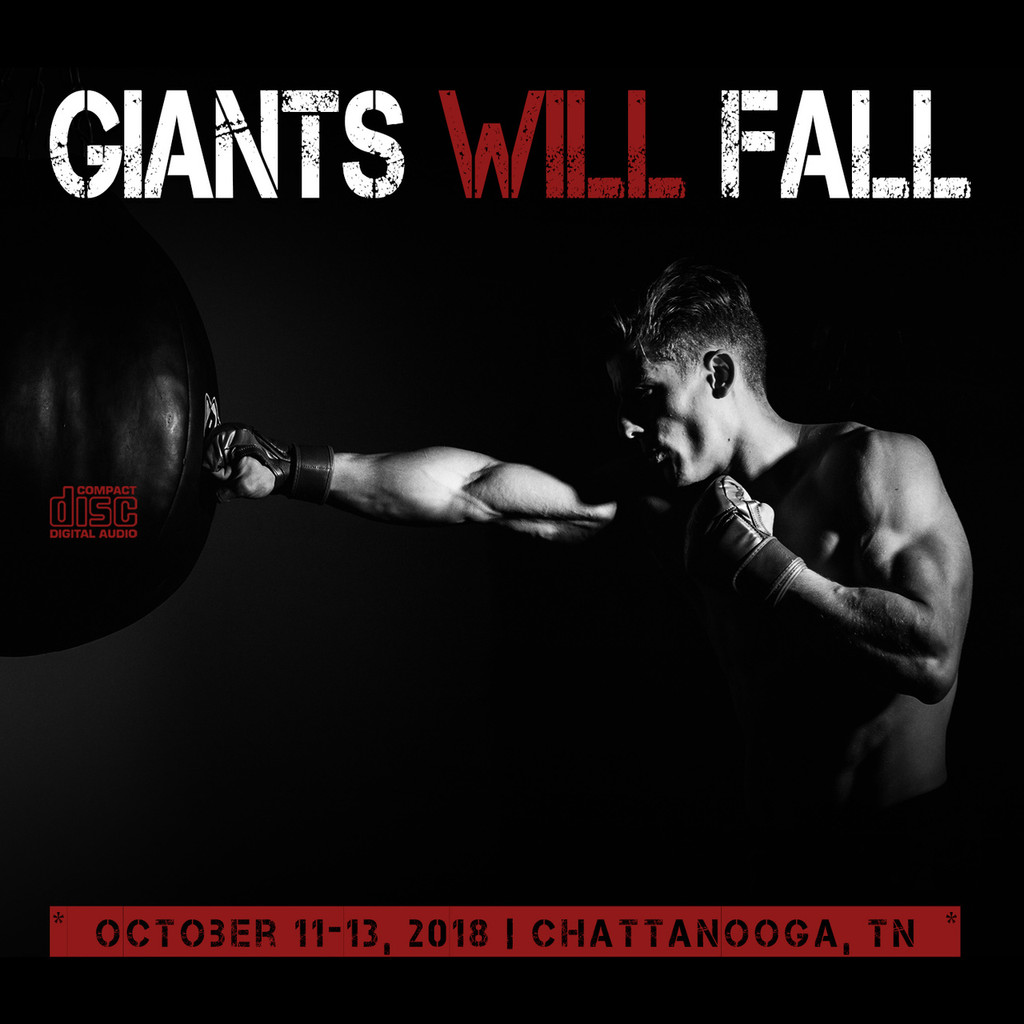 2018 Giants Will Fall Conference CD Set (Chattanooga, TN)