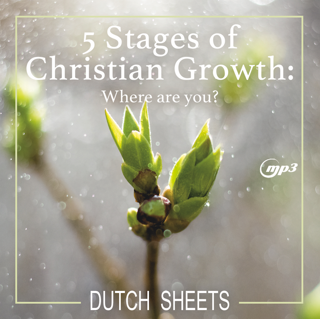5 Stages of Christian Growth: Where Are You? (MP3 Download)