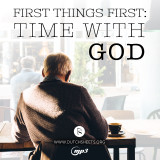 First Things First: Time With God (MP3 Download)