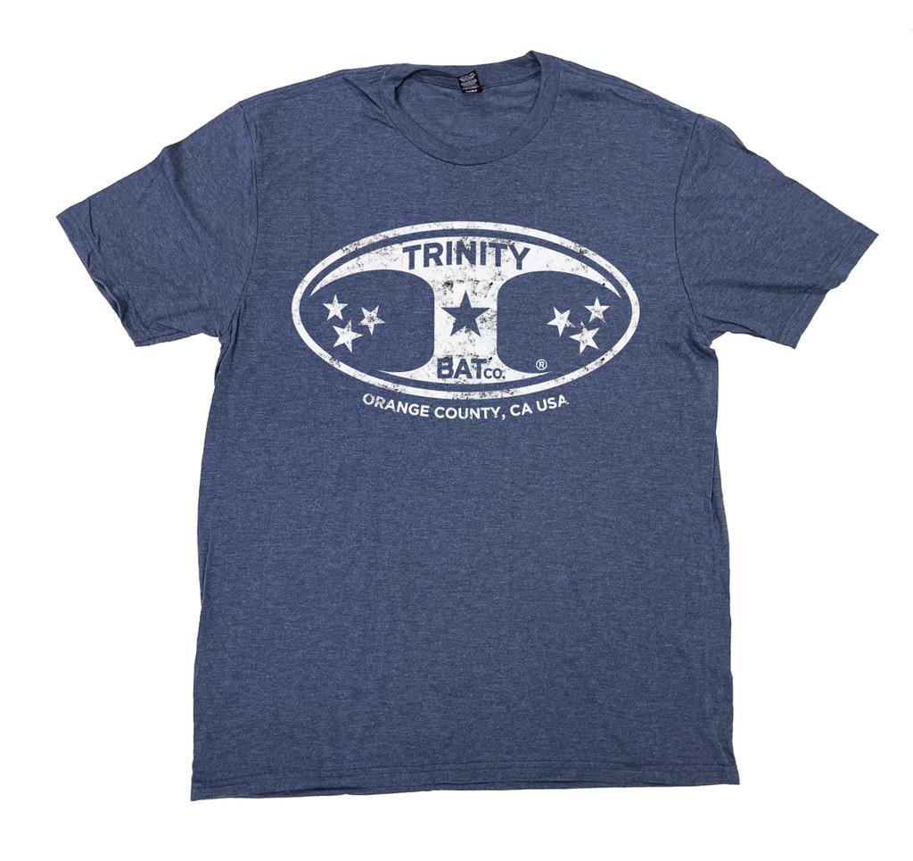 Trinity Distressed logo T-shirt