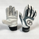 Trinity Batting Gloves White/Grey