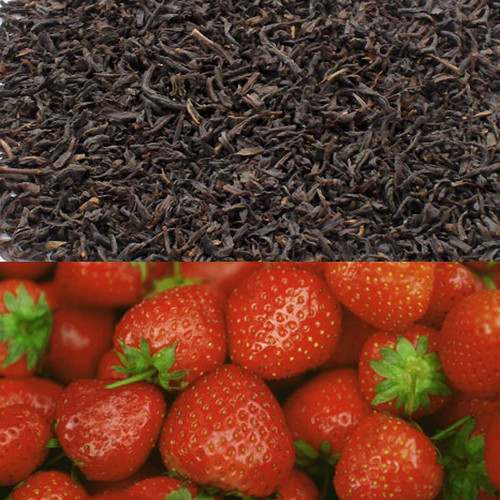 Strawberry Flavored Black Tea