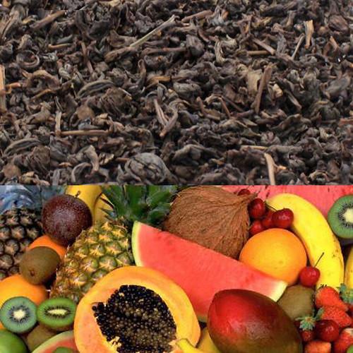 Tropical Fruits Flavored Oolong Tea