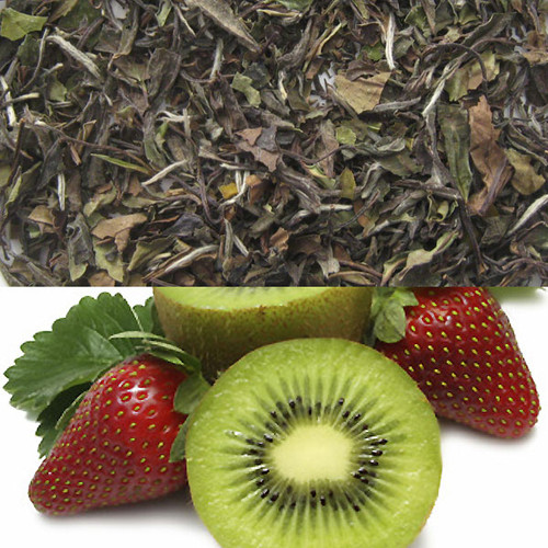 Kiwi Strawberry Flavored White Tea