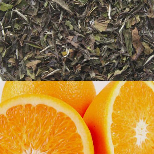Orange Flavored White Tea