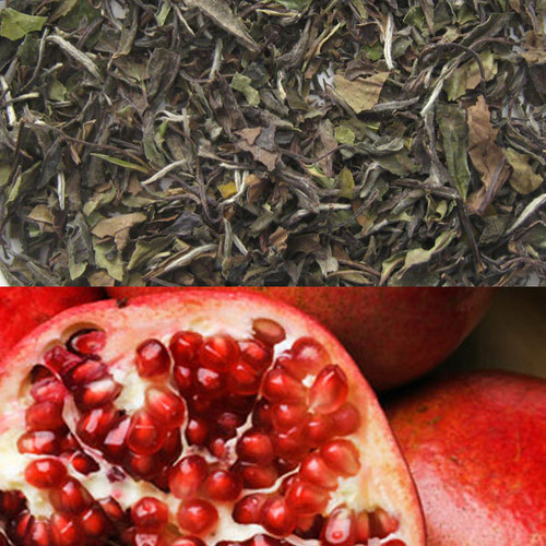 Pomegranate Flavored White Tea