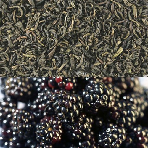 Blackberry Flavored Green Tea