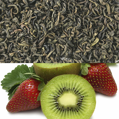 Kiwi Strawberry Flavored Green Tea