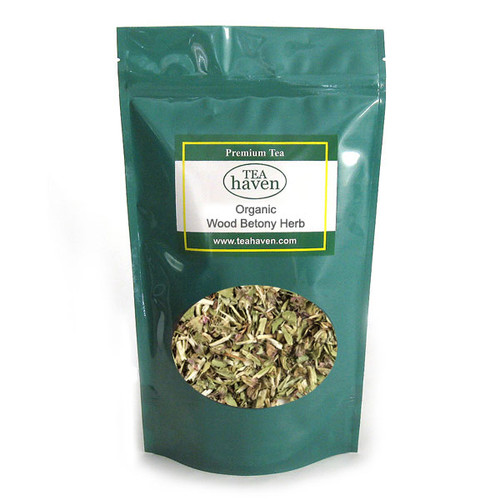 Organic Wood Betony Herb Tea