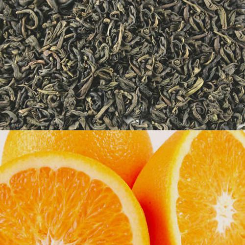 Orange Flavored Green Tea